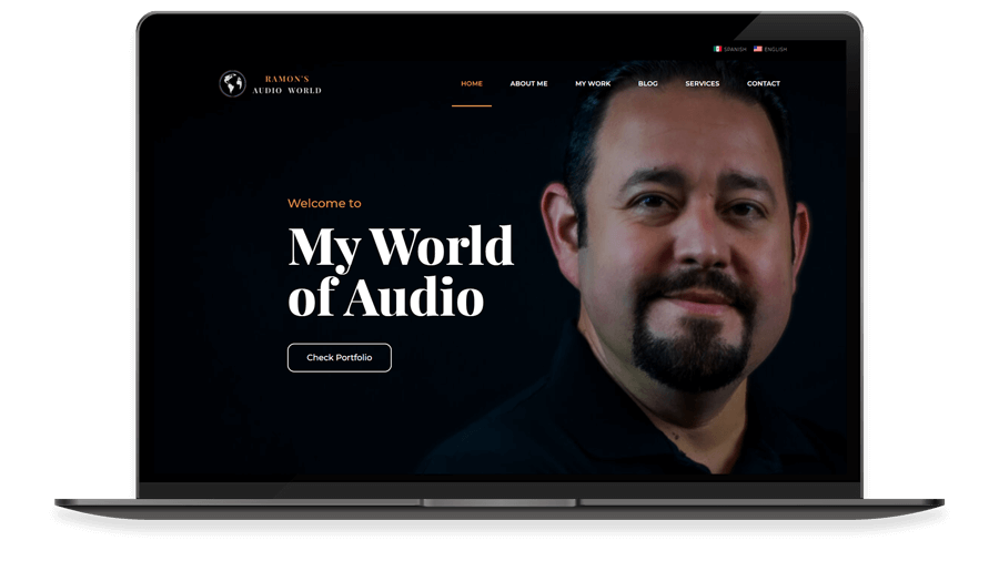 Portada de ramon's audio world